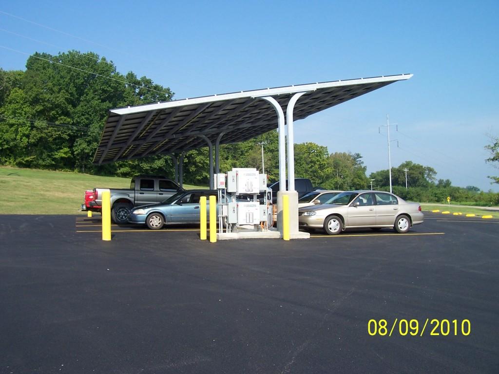 Solar Parking Structure1