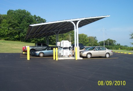 Solar Parking 1 & Gallery | Tulsa Tube Bending Inc.