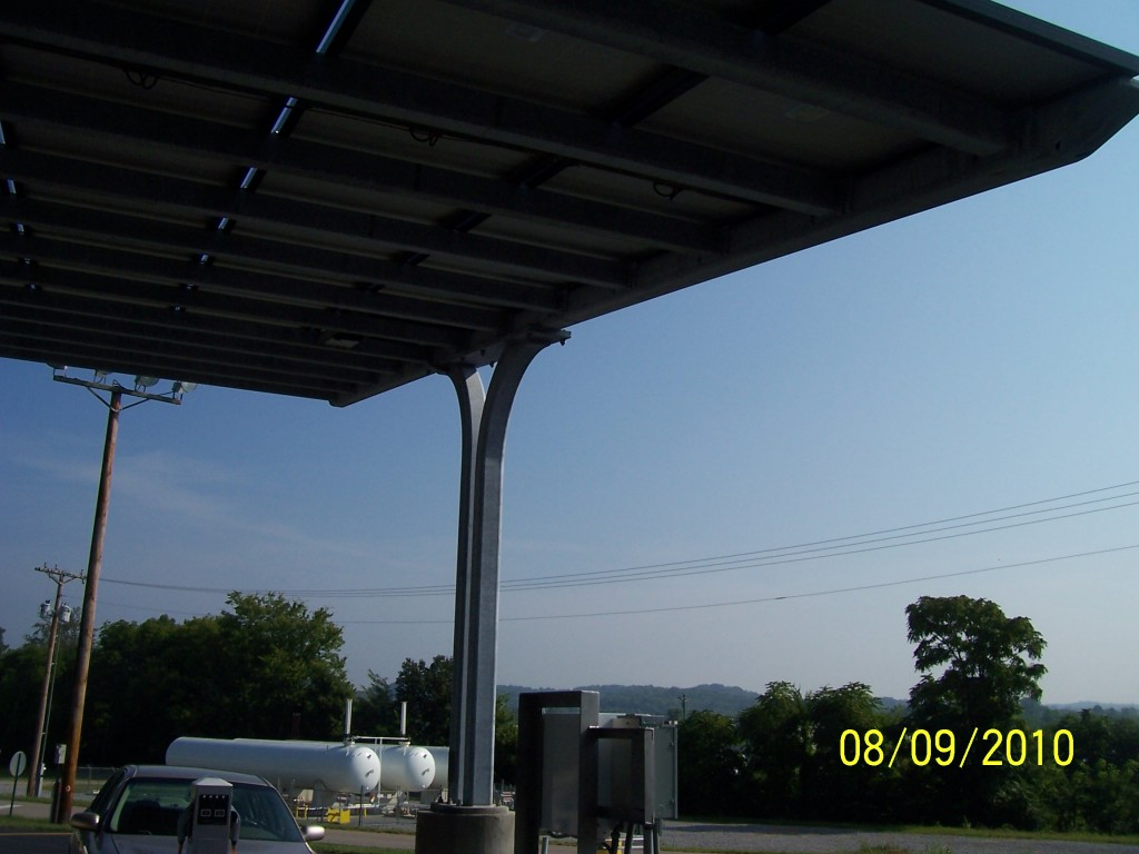 Solar Parking Structure2
