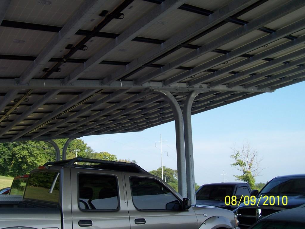 Solar Parking Structure3