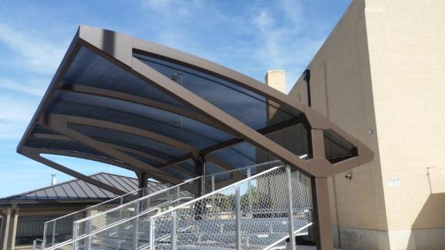 Bleacher canopy